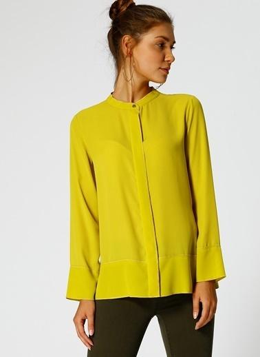 Fabrika Uzun Kollu Gömlek Sarı